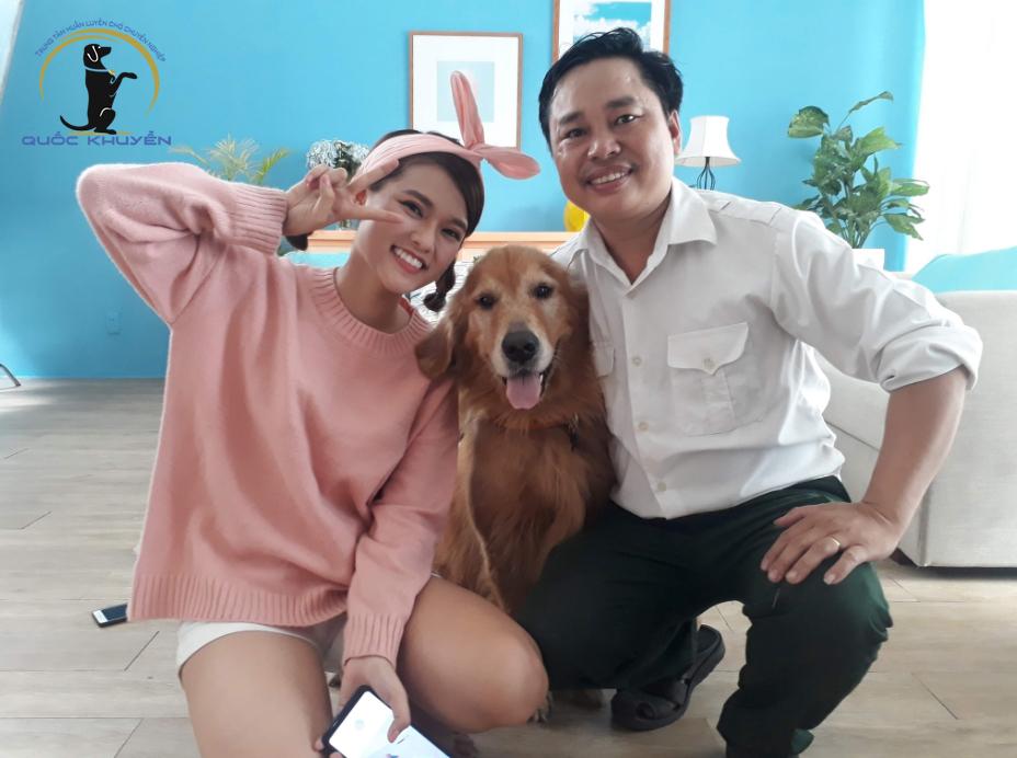 Phương pháp huấn luyện chó kiểng tại Quốc Khuyển 577